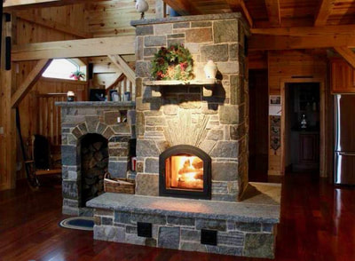 Masonry Heaters in Colchester Vermont by FireBrick Custom Masonry