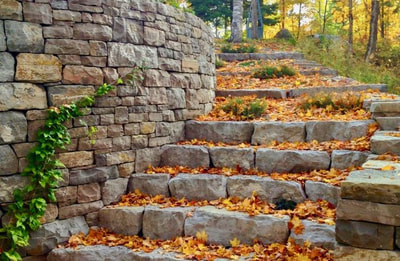 Retaining Walls in Vermont by FireBrick Custom Masonry