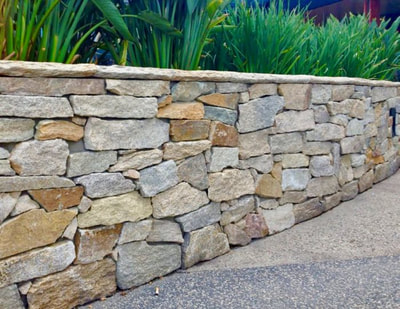 Stone Walls in Vermont by FireBrick Custom Masonry