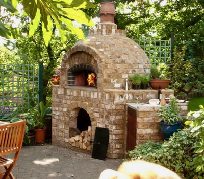 Wood Fired Pizza Ovens in Vermont by FireBrick Custom Masonry